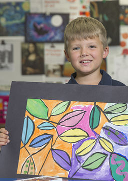 Lower School Art Class