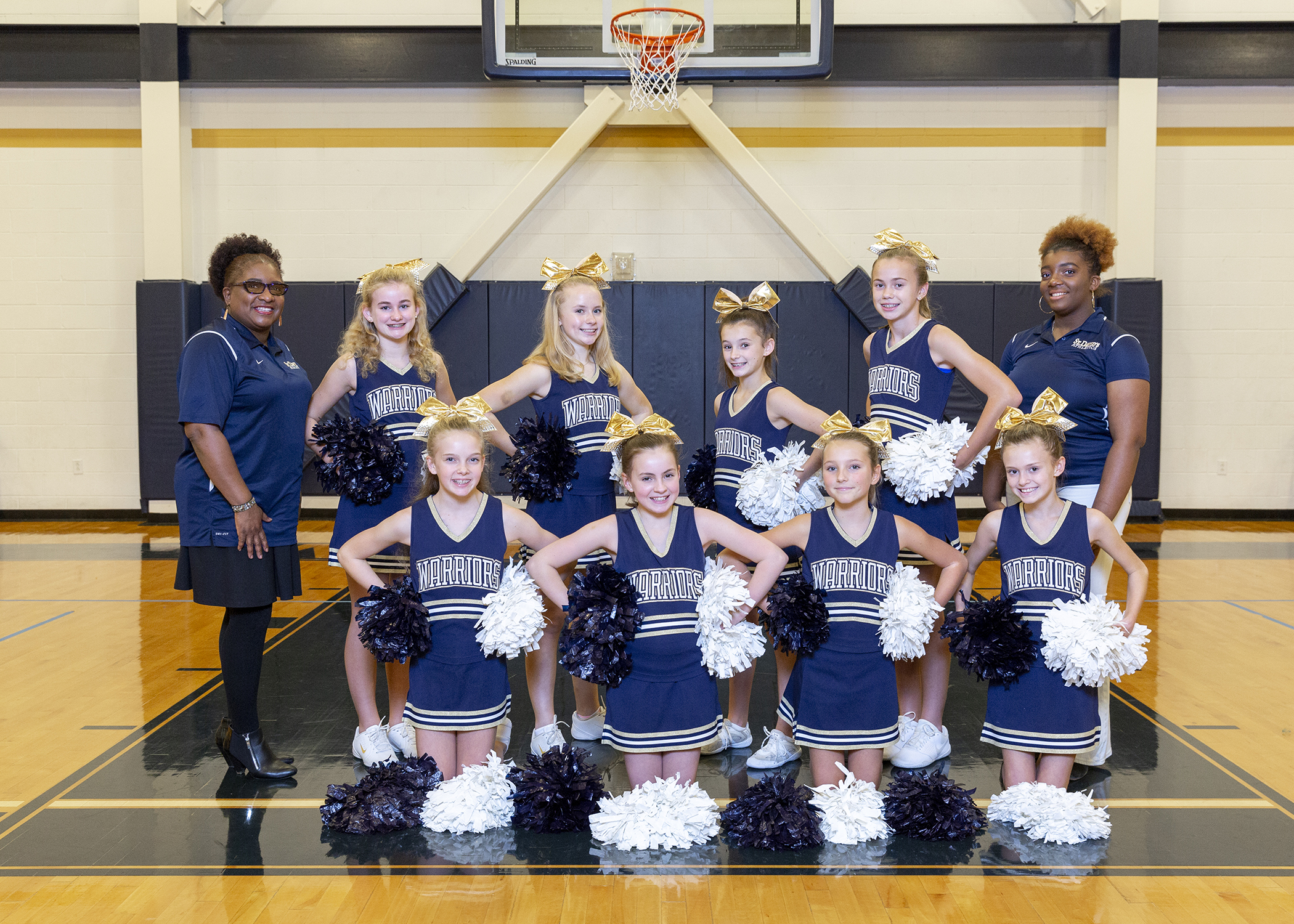 Winter Middle School Cheerleading
