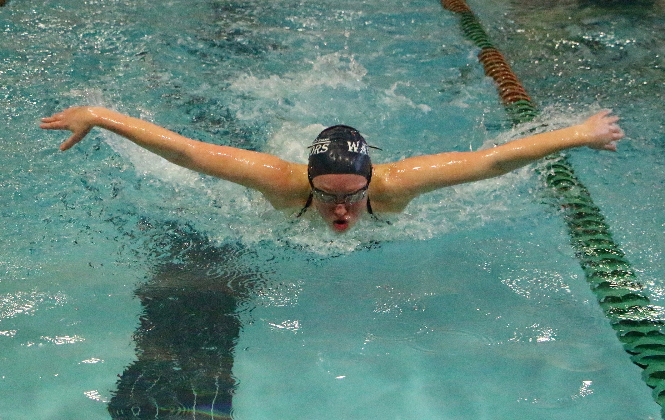 Warriors Compete In State Swim Meet