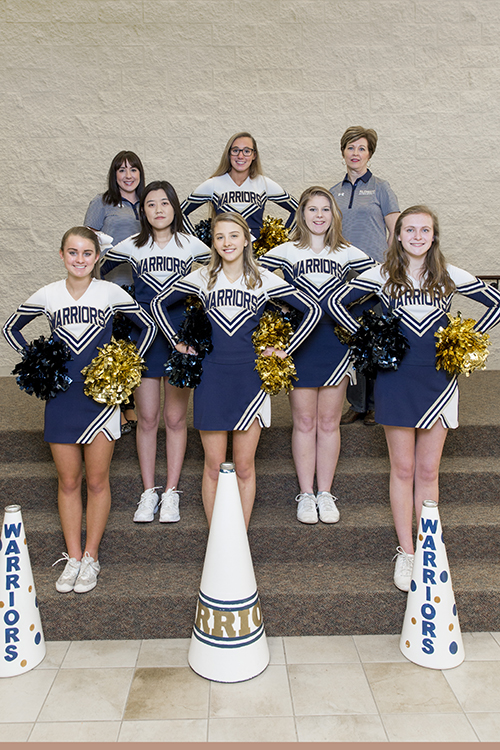 Varsity Winter Cheerleading